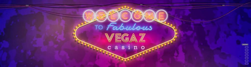 Vegaz Casino header